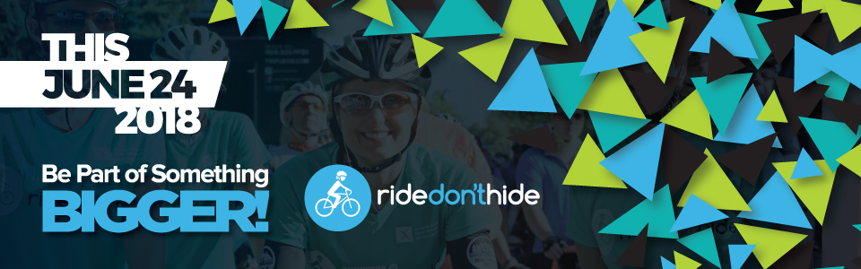 Ride Don't Hide June 24th 2018  Sponsorship Opportunities for Local Businesses