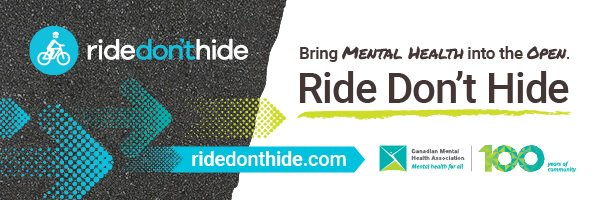 Registration is now open for June 23rd  Ride Don't Hide 2019