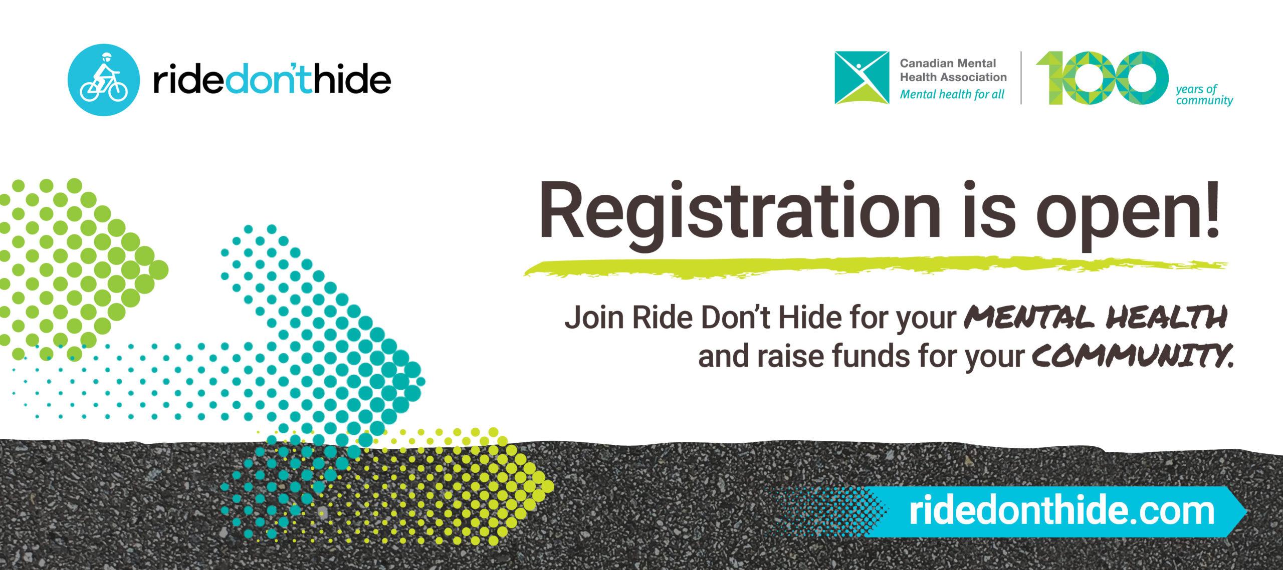 Ride Don't Hide 2021 Registration is Open!